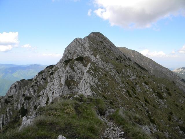 Vârful Pietrei - 2086 m - Piatra Craiului