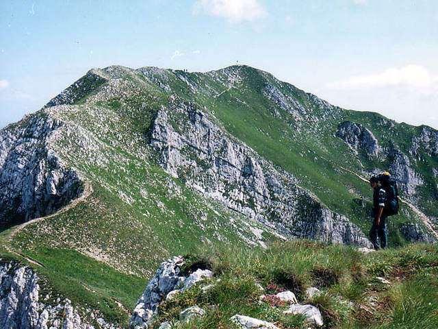 Vârful La Om ( Baciului ) - 2238 m - Piatra Craiului