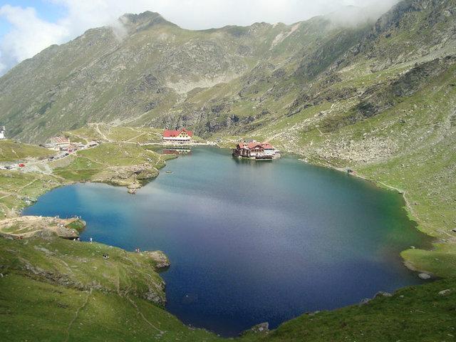 Lacul Bâlea - glaciar - 2034 m