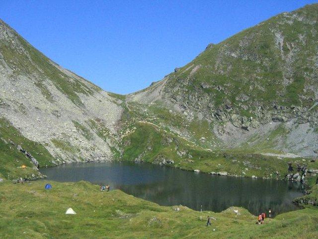 Lacul Capra - glaciar - 2230 m
