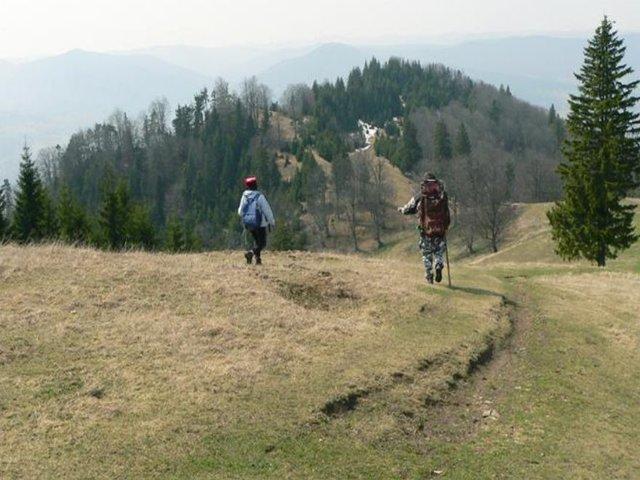 Vârful Muncelul - 1288 m - Tarcăului