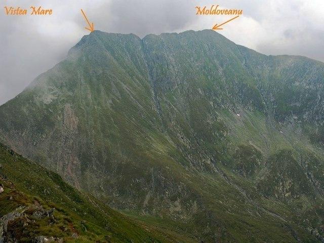 Vârful Moldoveanu - 2544 m - Făgăraş