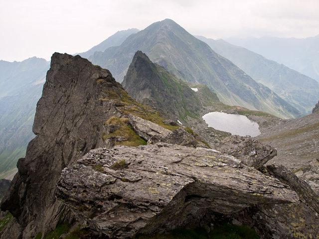 Lacul Călțun - glaciar - 2135 m