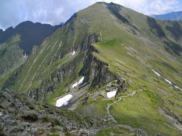 Vârful Viştea Mare - 2527 m - Făgăraş