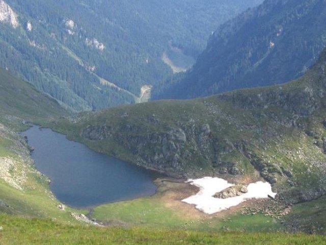 Lacul Buda - glaciar - 2055 m