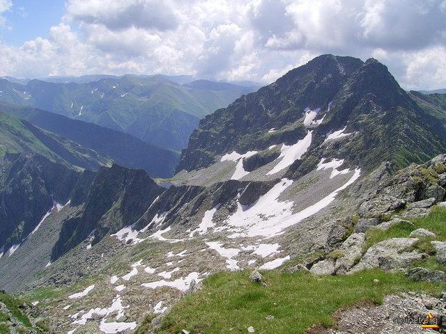 Vârful Cornul Călţunului - 2510 m - Făgăraş