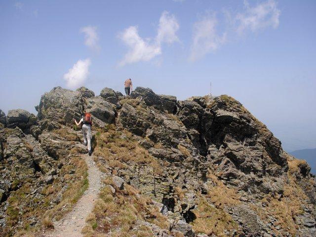 Vârful Vânătoarea lui Buteanu - 2507 m - Făgăraş