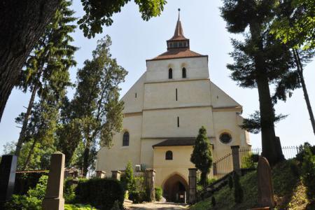 Biserica din Deal, aflată pe cel mai înalt vârf al Cetății Medievale din Sighișoara