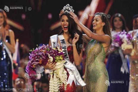Miss Filipine a fost încoronată Miss Univers 2018 la concursul din Thailanda