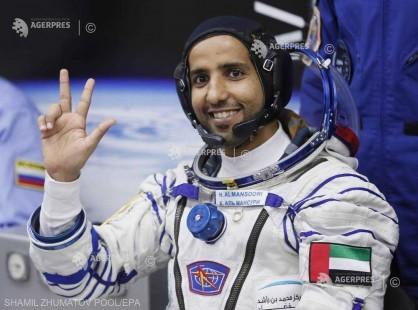 Primul astronaut din EAU revine pe Pământ