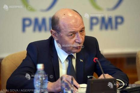 Băsescu, vizită la Chişinău: Până la alegerile locale trebuie realizată o unificare a partidelor unioniste