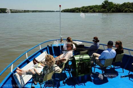 Tulcea: Hotelurile plutitoare din Deltă, tot mai solicitate de turişti