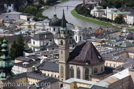 PATRIMONIUL MONDIAL UNESCO: Centrul istoric al oraşului Salzburg