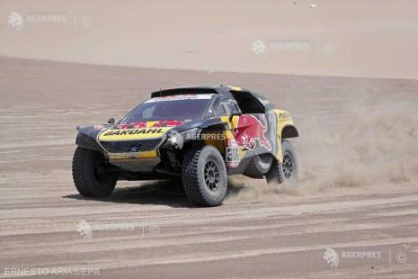 Auto: Raliul Dakar 2019 - A treia victorie de etapă pentru Sebastien Loeb
