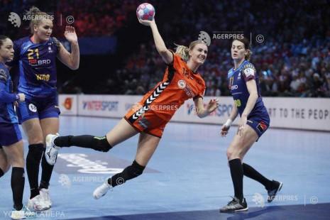 Handbal feminin: România, învinsă cu 24-20 de Olanda, în finala mică la EURO 2018