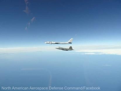 VIDEO SUA: Patru avioane de recunoaştere ruseşti interceptate lângă Alaska