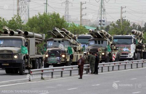 Iran/SUA: Rachetele iraniene pot lovi navele americane în Golf (responsabil al Gardienilor Revoluţiei)