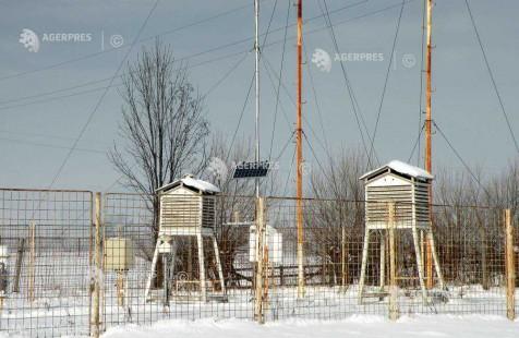 Covasna: Ger la Întorsura Buzăului - minus 26 de grade Celsius