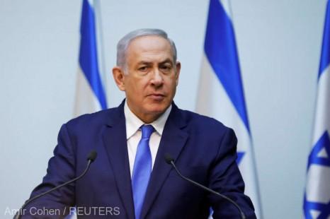 Israel: Netanyahu afirmă că nu va demisiona dacă va fi inculpat