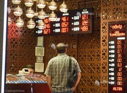 Economia Turciei a intrat în recesiune