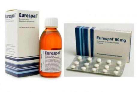 ANMDM: Medicamentul Eurespal - retras de pe piaţă