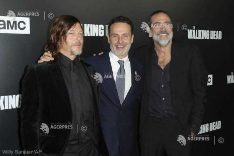''The Walking Dead'', cel mai piratat serial TV în 2018