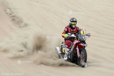 Moto: Raliul Dakar 2019 - Barreda a câştigat prima etapă; Gyenes, pe locul 68