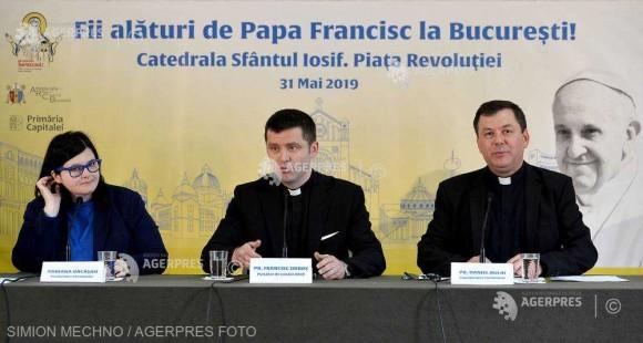 Perioada înscrierilor pentru Liturghia de la Catedrala ''Sf. Iosif'' prezidată de Papa Francisc - prelungită până pe 15 mai