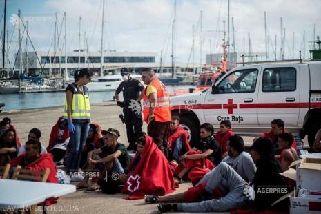 Spania: 401 migranţi au fost salvaţi de pe mare de la 1 ianuarie