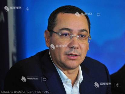 Victor Ponta: Voi fi liderul Partidului Pro România, dar nu voi candida la prezidenţiale în 2019