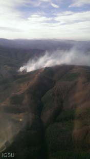 ISU Caraş-Severin: Incendiu de pădure în Munţii Semenic