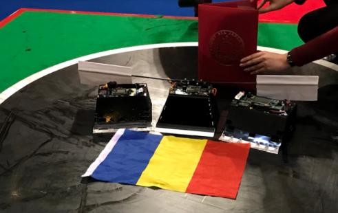 România, vicecampioană mondială la turneul de sumo robotic de la Tokyo (Bitdefender)