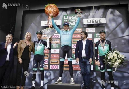 Ciclism: Danezul Jakob Fuglsang, învingător în cursa Liege-Bastogne-Liege