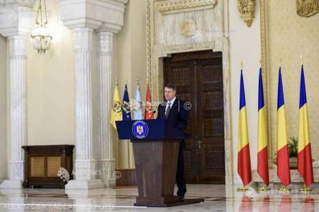 Iohannis: Voi intra în competiţie pentru un nou mandat de preşedinte