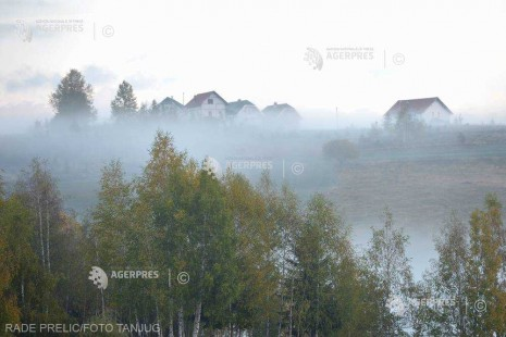 ANM: 18 judeţe, sub Cod galben de ceaţă şi vizibilitate redusă