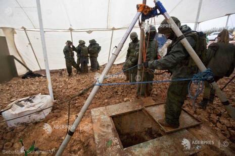 Israelul anunţă că a localizat toate tunelurile Hezbollah