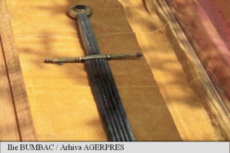 Suceava: Spadă originală a lui Ștefan cel Mare expusă, în premieră, la Muzeul Bucovinei
