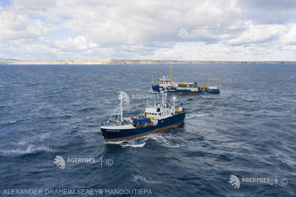 AFP: România ar fi printre ţările dispuse să primească migranţi de pe navele unor ONG-uri aflate în Mediterana