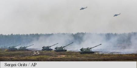 Un atac împotriva țărilor baltice a fost simulat în cadrul exercițiilor militare ruso-belaruse Zapad (ministru lituanian)