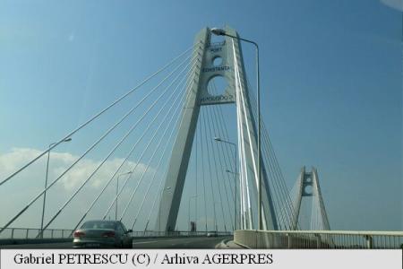 CNAIR: Circulația pe podul Agigea va fi restricționată în perioada 18 septembrie - 1 noiembrie; trei nopți va fi închisă