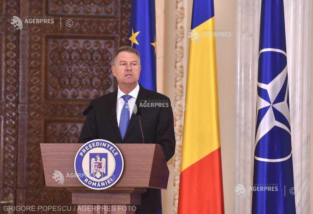 Preşedintele Iohannis a decis amânarea ceremoniei în care urma să declare 2019