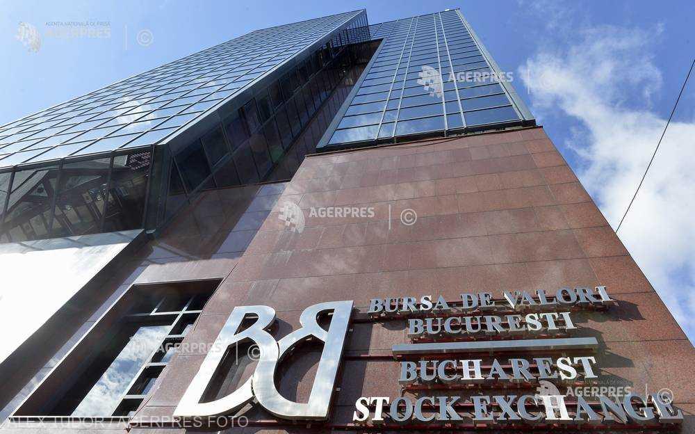 Indicele principal al Bursei de la Bucureşti pierde aproape 3% în deschiderea şedinţei de luni