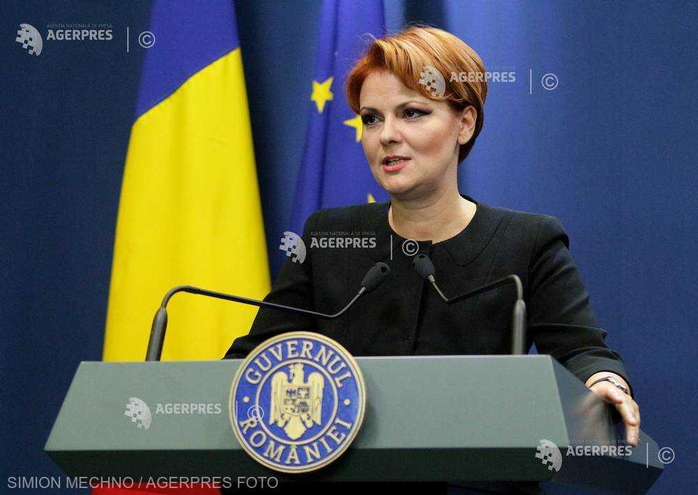 Olguţa Vasilescu: Dublarea punctului de pensie se va face în interiorul mandatului nostru