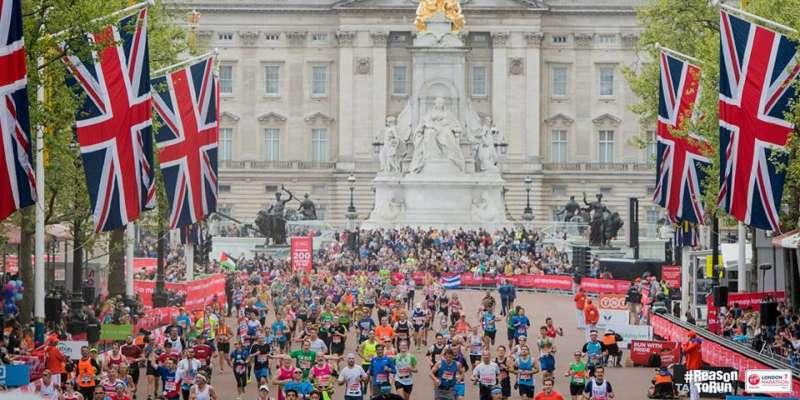 A 38-a ediţie a Maratonului de la Londra