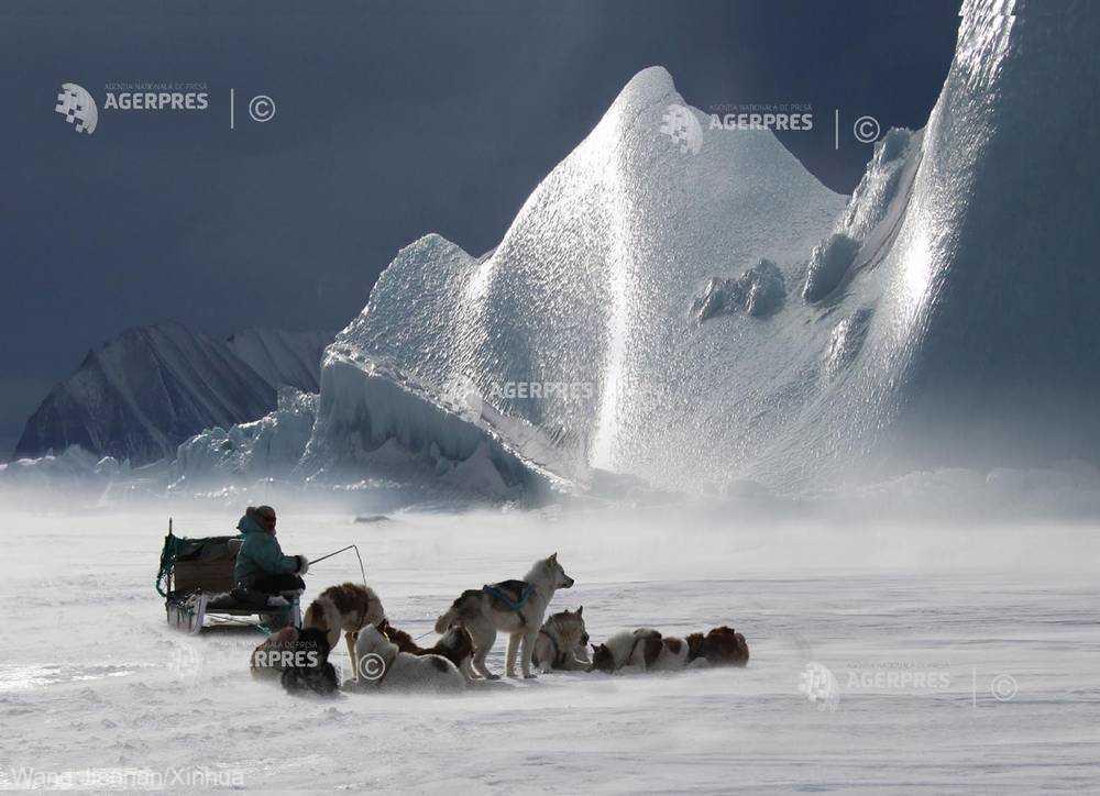 Stratul de gheaţă al Groenlandei se topeşte la niveluri fără precedent (studiu)