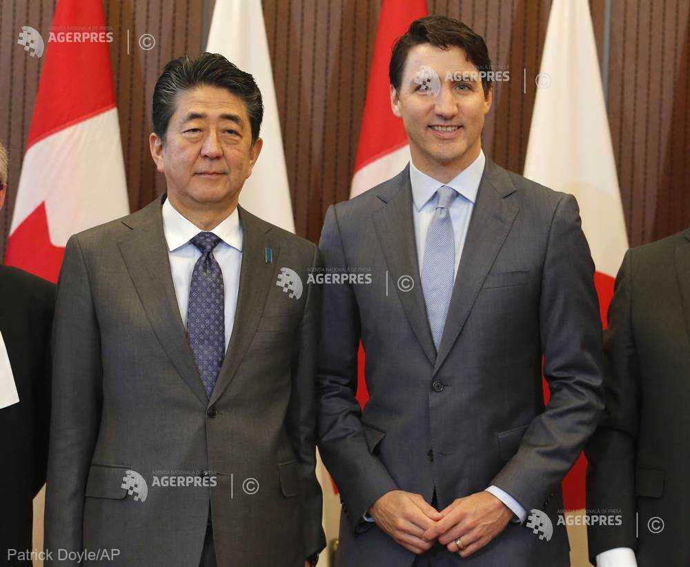 Parteneriatul Trans-Pacific, un succes chiar şi fără Trump (premierii Japoniei şi Canadei)