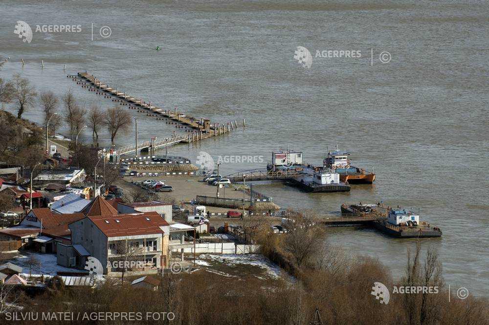INHGA: Debitele Dunării şi ale râurilor vor fi în creştere în următoarele zile, ca urmare a precipitaţiilor prognozate