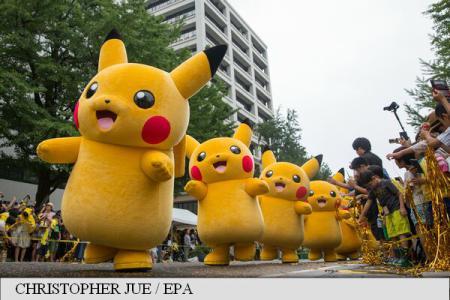 Japonia: Paradă Pikachu pentru fanii jocului Pokemon Go