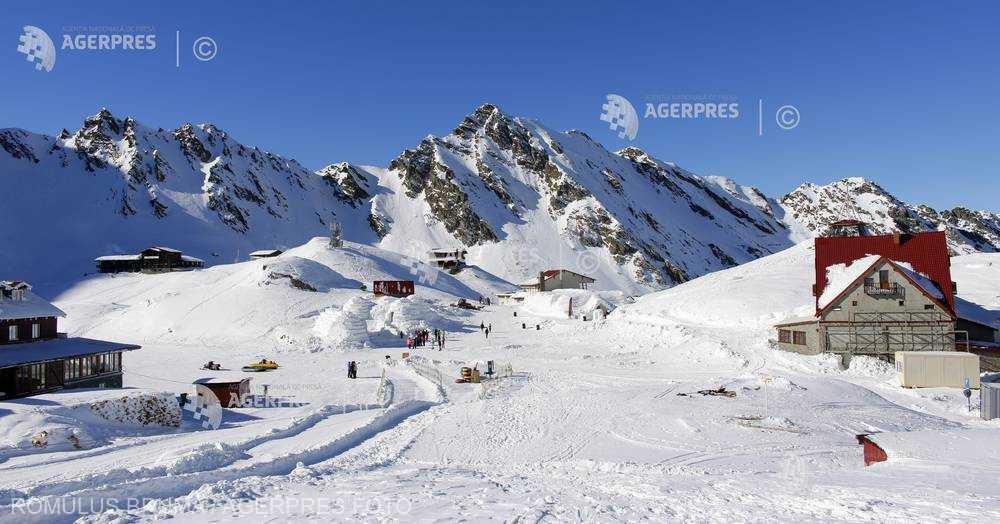 Sibiu: Risc mare de producere de avalanşe la Bâlea Lac la peste 1.800 de metri altitudine