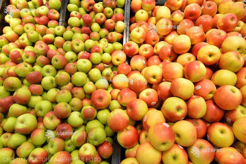 Maramureş: 60.000 de tone de mere, valorificate pe piaţa locală până la sfârşitul lunii martie